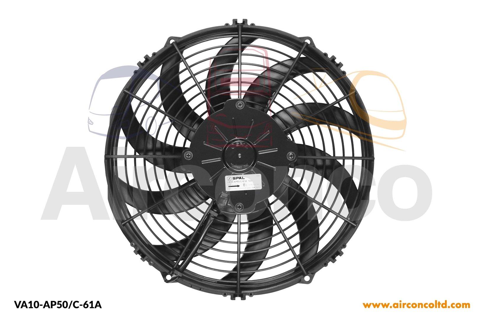 Spal Axial Fan Va10 Ap50 C 61a 12v Airconco Coach Bus Hvac Wiring Diagram Single